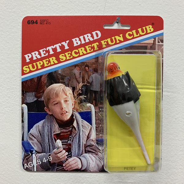 "Super Secret Fun Club ""Petey"" BNG Edition Toy, edition of 50, available for $25"
