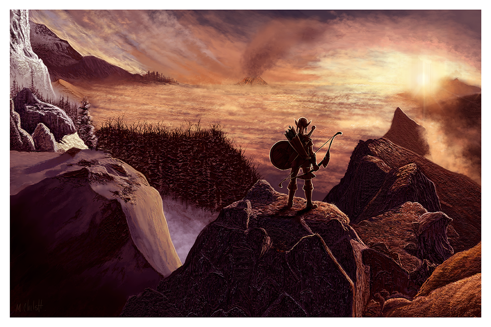 "Mark Chilcott ""Zelda"" giclee, 13 x 19 inches, numbered edition of 50, available for $35"